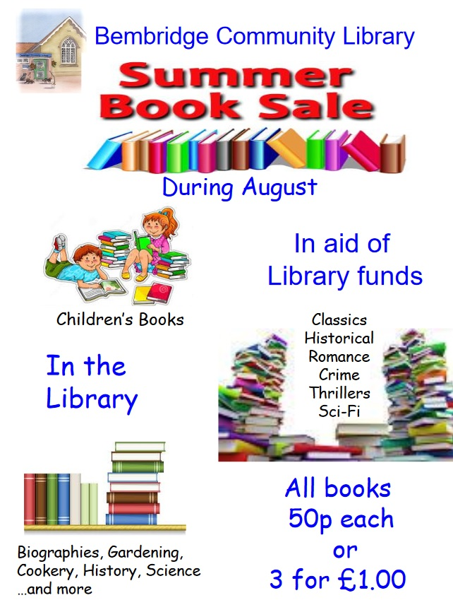 Book Sale - August