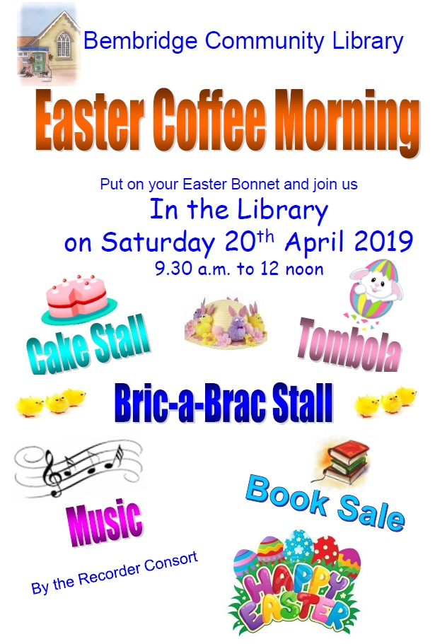 Easter Coffee Morning 2019